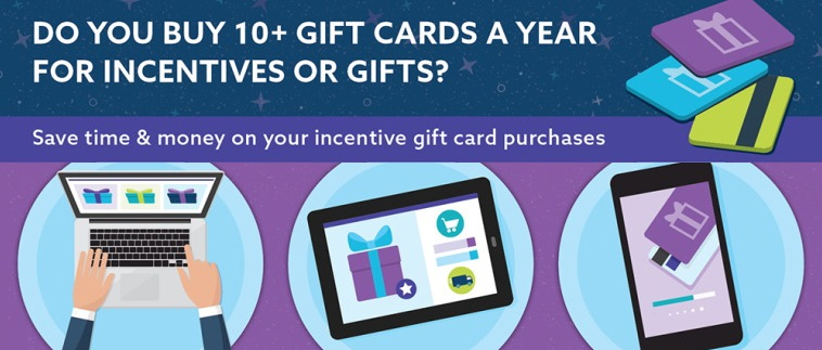 Do You Buy 10+ Gift cards a Year for Incentives or Gifts? Did you know there is an entire industry dedicated to supporting your needs?